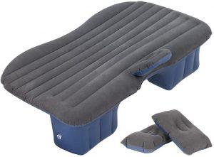 HAITRAL Portable Travel Camping Inflatable Air Mattress Car Bed