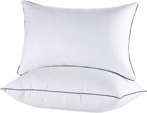 JOLLYVOGUE Bed Pillows for Sleeping for Side and Back Sleeper