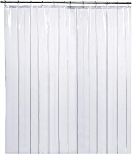 LiBa PEVA 8G Bathroom Shower Curtain Liner