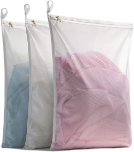 TENRAI Fine Mesh Laundry Bags for Machine Washing