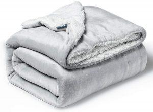 Bedsure Baby Sherpa Fleece Blankets