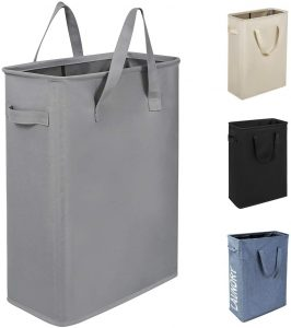 Chrislley 45L Narrow Thin Collapsible Laundry Hamper