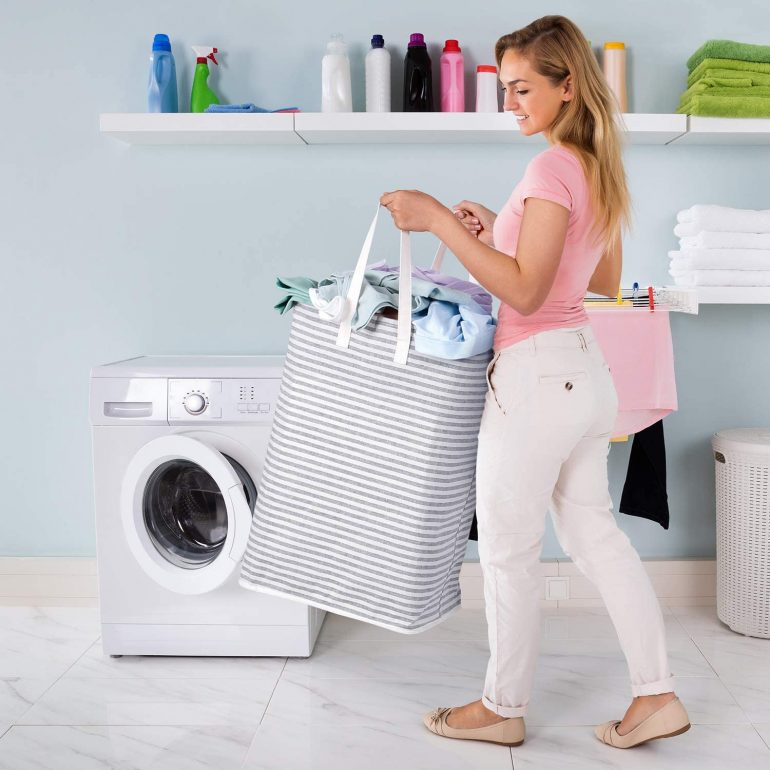 Freestanding Laundry Hamper