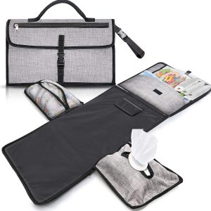 Gimars XL six Pockets Portable Baby Diaper Changing Mat Station