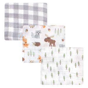 Hudson Baby Unisex Baby Cotton Swaddle Blankets