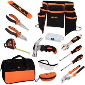 JoyTown Portable and durable Kids Real Tool Set