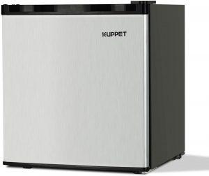 K9. UPPET 1.1 cu. ft. Compact Upright Freezer with Reversible Steel Door