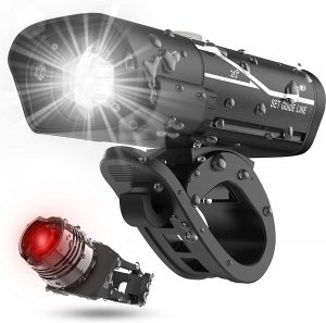 LXL Bike Headlight and Back Light Set
