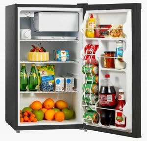 Midea WHS-160RB1 Reversible door 4.4 Cubic Feet Compact Refrigerator