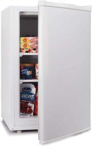 Northair Upright Freezer with Adjustable Thermostat, Shelf, Reversible Single Door