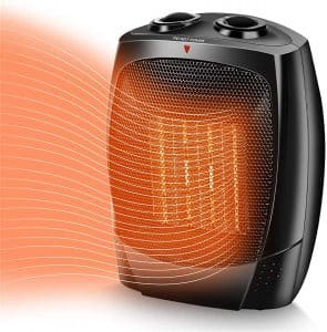 TRUSTECH Space Heater, 3 Adjustable Modes for Indoor Use