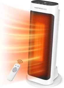 Taotronics Space Electric Heater with a Remote Control, White