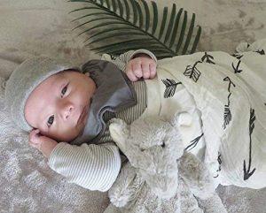 Upsimples Unisex Baby Swaddle Blanket