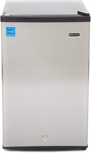 Whynter CUF-210SS 2.1 cubic feet. Energy Star Upright Compact Refrigerators