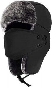mysuntown Bomber Fur Hats for Men and Women