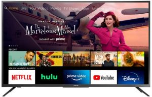 All-New Toshiba 50-Inch Smart TV