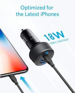 Anker Car Charger USB C