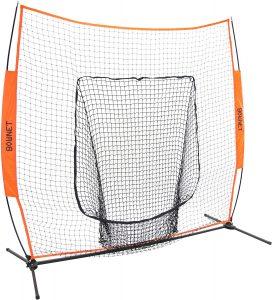 Bownet 7' x 7' Portable Sock Net for Baseball