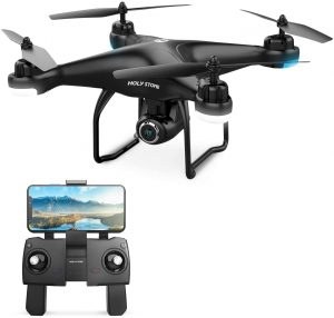 DEERC Holy Stone HS120D Quadcopter FPV Drone with GPS Return Home