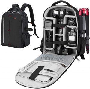 ESDDI Camera Bag Professional Backpack Camera Case