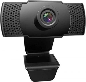 FRIEET 1080P HD Streaming Webcam with Microphone