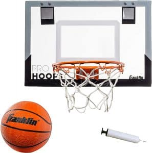 Franklin Sports Shatter Resistant Over the Door Basketball Hoop