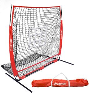 GoSports 5' x 5 Baseball Practice Fielding Net