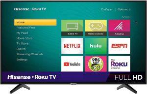 Hisense 40-Inch LED Smart TV