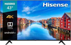 Hisense 43-Inch 4K Ultra HD Smart TV