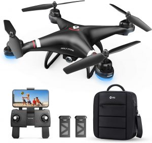 Holy Stone Adults and Kids GPS Drone with FPV Live Video and 1080P HD Camera