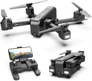 Holy Stone HS270 Portable Selfie GPS 2.7K Drone for Adults