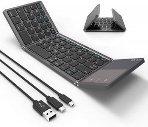 Jelly Comb 3-in-1 Foldable Bluetooth Keyboard