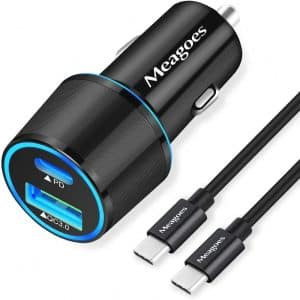 Meagoes USB C Car Charger