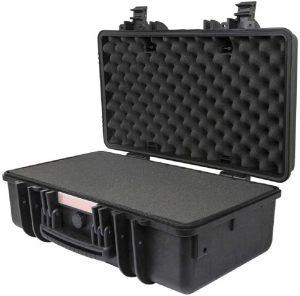 Monoprice Shockproof/Weatherproof IP67 Hard Case with Customizable Foam