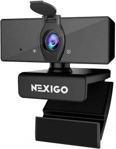 NexiGo 1080P Business Webcam with Dual Microphone