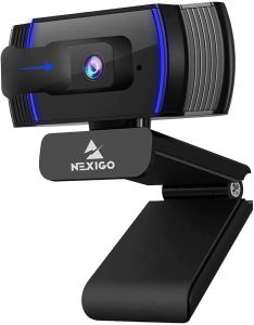 NexiGo 2021 AutoFocus 1080p Webcam with Stereo Microphone