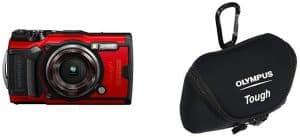 Olympus TG-6 Tough Waterproof Camera Neoprene Case (Black)