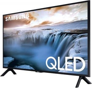 SAMSUNG Flat QLED 4K Smart TV