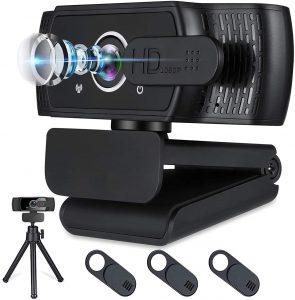 SamCorn 1080P HD Webcam with Microphone for Desktop