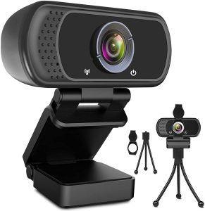 ToLuLu Webcam HD 1080p Web Camera with Microphone