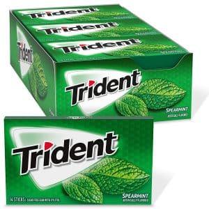 Trident 168 Total Pieces Sugar Free Spearmint Gum