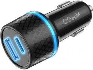 USB C Car Charger Adapter, QGeeM