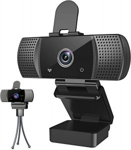 Webcam with Microphone Full 1080P HD