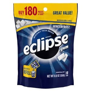 Winterfrost ECLIPSE 8.8- Ounce 180 piece Sugarfree Gum