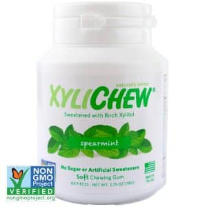 Xylitol 100% Xylichew Non GMO Chewing Gum