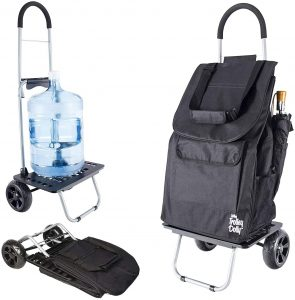 dBest Products Grocery Foldable Cart