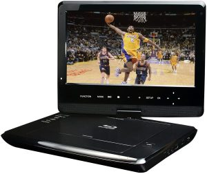Azend Group Corp 10-Inch Portable Blu-Ray DVD Player