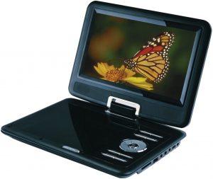 CURTIS Sylvania 9-Inch DVD Player, Black