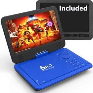 "DR. J 12.5"" Portable DVD Player"