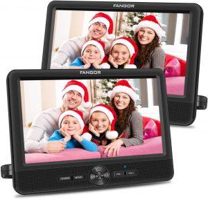 FANGOR 10'' Portable DVD Player